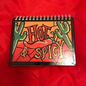 2002 Hot & Spicy 🌶Cook-Book Spiral Bound